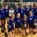 18th District Volleyball Tournament Runner-Up