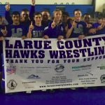 LARUE TO COMPETE IN STATE DUALS THIS SATURDAY.