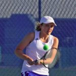 Karrington Donahue advances to the 3rd Round of 5th Region Tennis Tourney