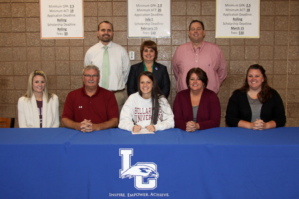 Presley Brown officially signs with Bellarmine University