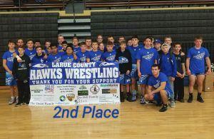 LC Hawks Wrestling @ Boyle Co Duals by April Brown