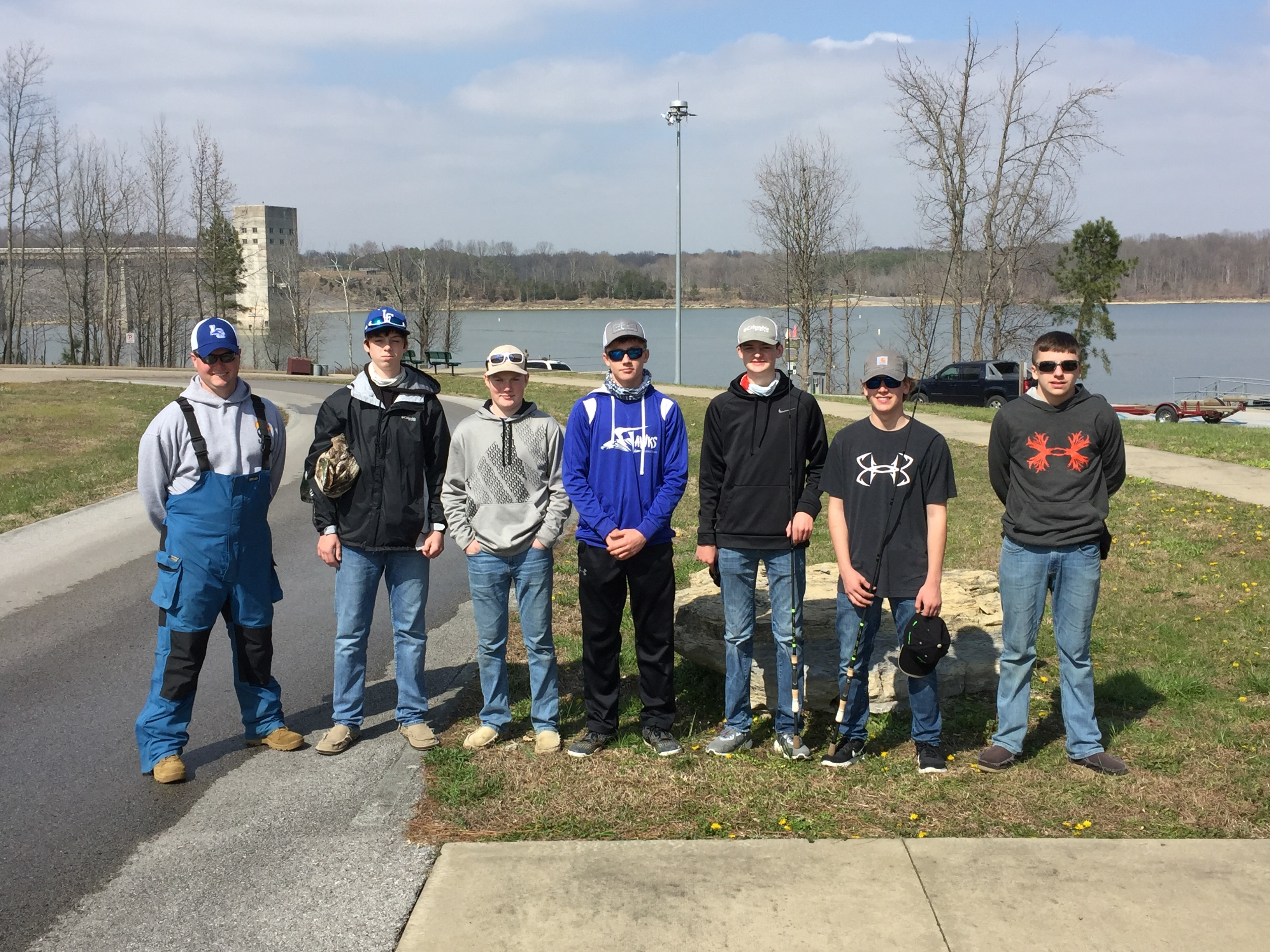 LCHS BASS CLUB takes to the waters!