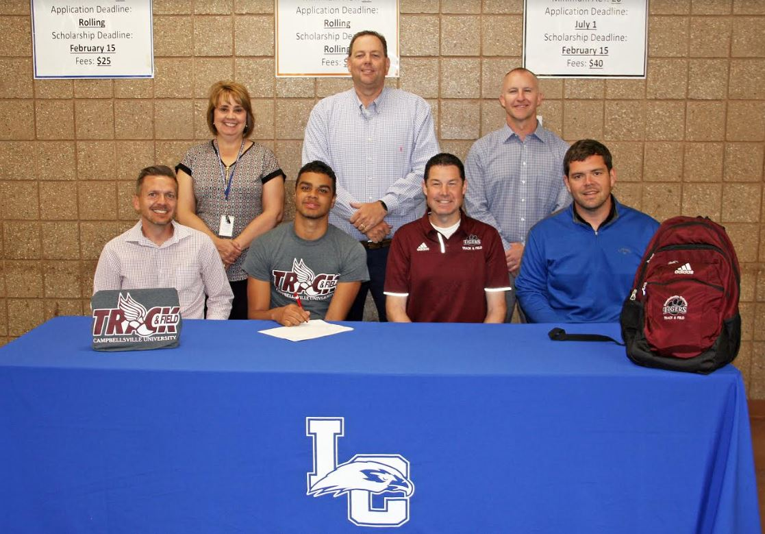 SUBLETT SIGNS WITH CAMPBELLSVILLE UNIVERSITY