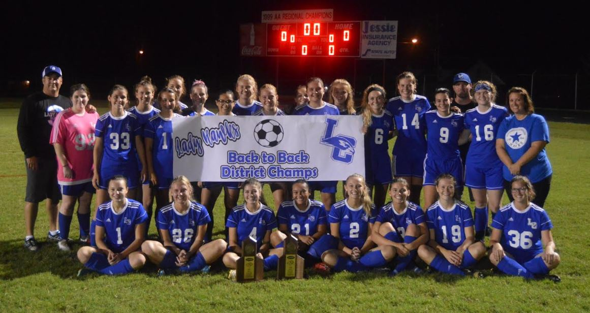 LADY HAWKS SOCCER – 18TH DISTRICT CHAMPS!