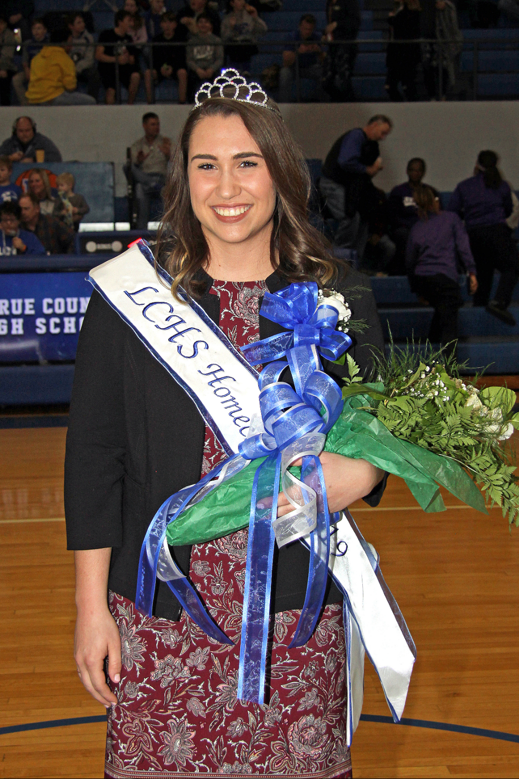 BAILEY ROGERS CROWNED BASKETBALL HOMECOMING QUEEN
