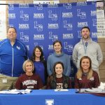 TORI STINNETT SIGNS WITH CAMPBELLSVILLE U. CHEER