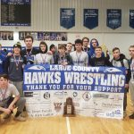 MAT HAWKS FINISH SECOND AT REGION 2 WRESTLING TOURNAMENT
