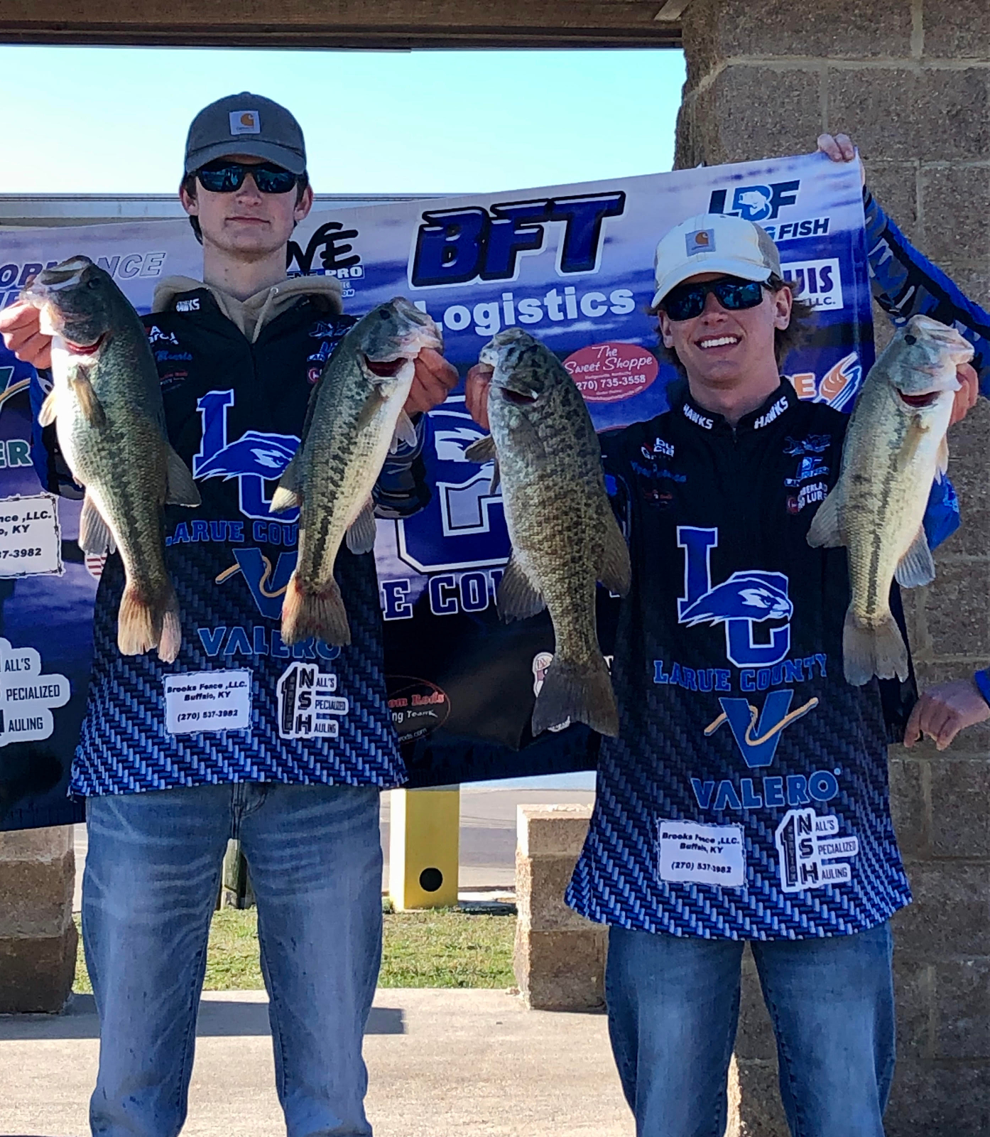 ANGLERS WYATT PEARMAN AND EVAN MORRIS TAKE 1ST PLACE AT BOYLE CO OPEN