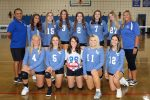 2020 LADY HAWKS VARSITY VOLLEYBALL TEAM