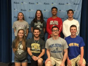 Senior College Sports Recognition Day- Photo Gallery