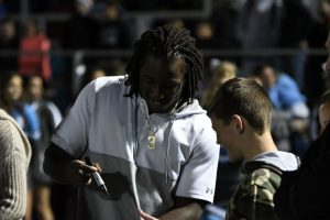 Kareem Hunt at Football Game- 10/13- Photo Gallery