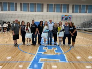 Volleyball Senior Night- Photo Gallery