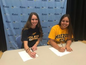 Signing Day- Mann & Frizell