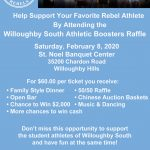 Willoughby South Athletic Boosters Raffle- 2/8