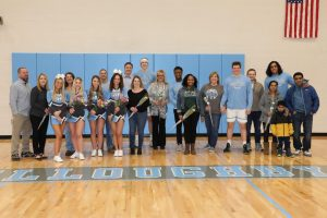 Winter Cheer Senior Night- Photo Gallery