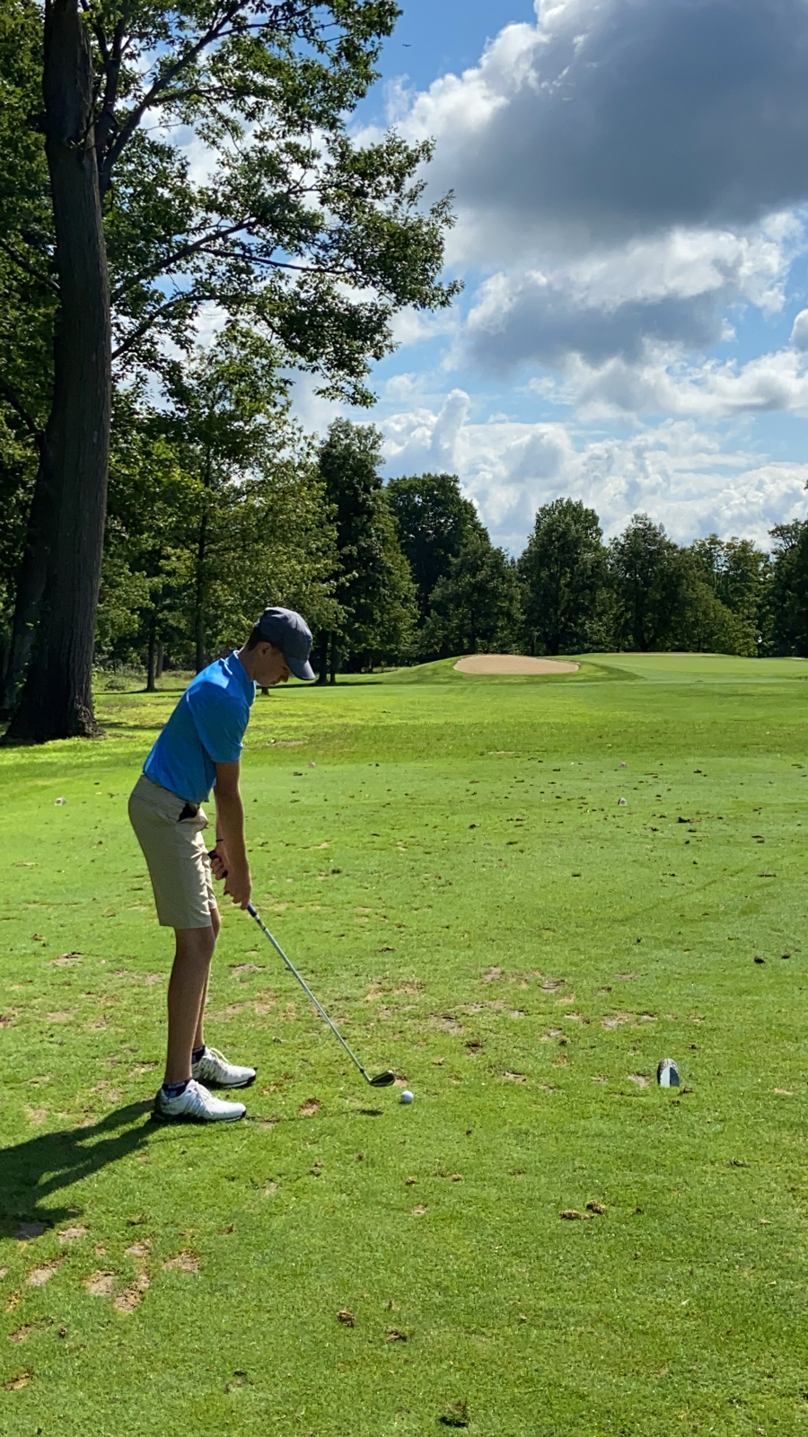 Rebel Golfers at Punderson for Kenston Invitational