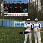 Boys Varsity Baseball beats Patuxent 15 – 5