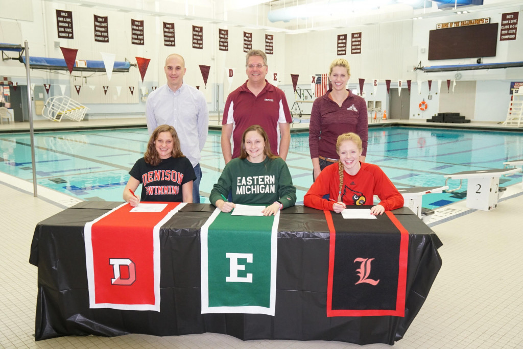Big Week for Swim & Dive:  MHSAA & Signing Day