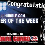 "Logan Thut nominated for JJ Huddle ""Player of the Week"""