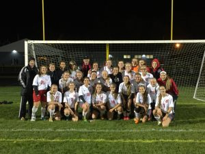 Sectional Soccer vs. Field 10/22/15