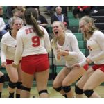 Volleyball defeats Salem 3-2 to move onto District Final on Wednesday