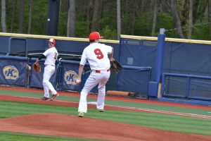 Varsity Baseball vs Maple Heights @ Kent State 5/9/2016