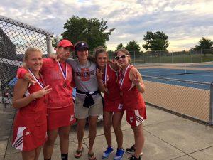Girl's Tennis PTC Championship 9/20/16