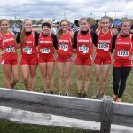Red Devils Girl's Cross Country run in the OHSAA Regionals at Boardman Saturday