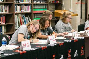 Collegiate Athletic Commitment Ceremony 4/28/17