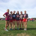 Red Devils Girl's Cross Country run for Regional Championships