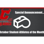 "Red Devil Nation salutes October ""Student-Athletes of the Month"""