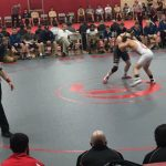 Wrestlers hold on to 42-33 win