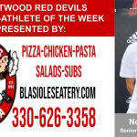 Blasiole's Pizza: Student-Athlete of the Week