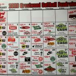 Final Week of Softball Pick 3 Calendar Fund Raiser