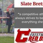 Spring Sports Senior Spotlight: Slate Bretz
