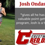 Spring Sports Senior Spotlight: Josh Ondash