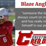 Spring Sports Senior Spotlight: Blaze Angle