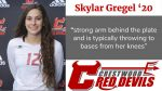 Spring Sports Senior Spotlight: Skylar Gregel