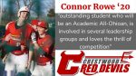 Spring Sports Senior Spotlight: Connor Rowe