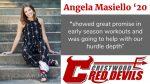 Spring Sports Senior Spotlight: Angela Masiello