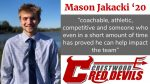 Spring Sports Senior Spotlight: Mason Jakacki