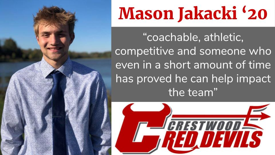 Spring Sports Senior Spotlight: Mason Jakacki