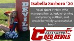 Spring Sports Senior Spotlight: Isabella Sorboro