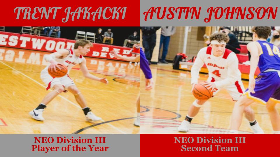 NE Inland District Boys Basketball Awards