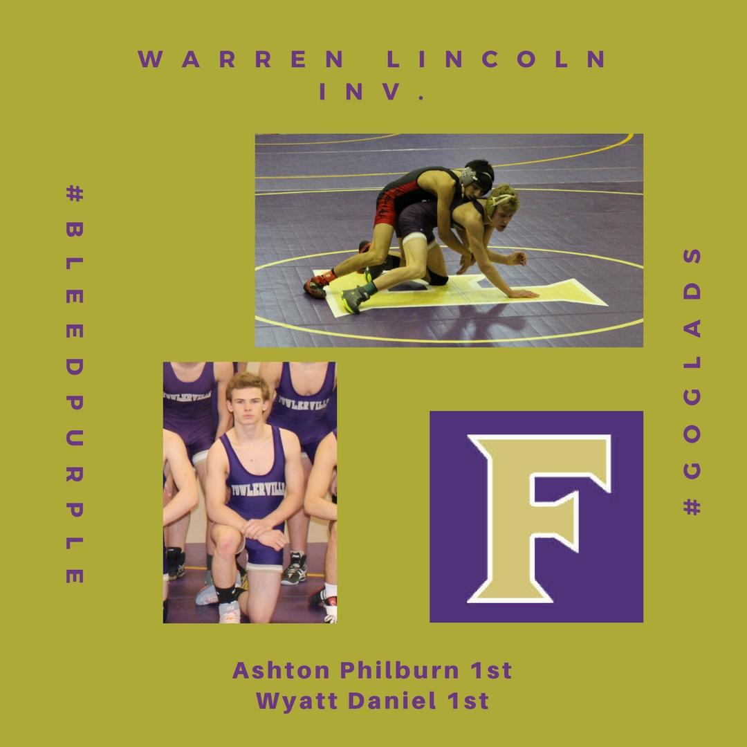 Philburn & Daniel place 1st at Lincoln Inv!