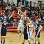 Whitmore Lake High School Boys Varsity Basketball falls to Whiteford Schools 42-62