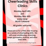 Spring Cheer Clinics