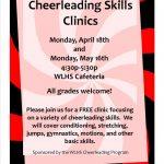 Spring Cheer Clinics