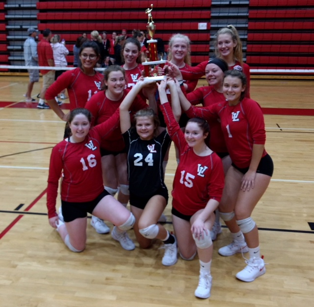 Volleyball takes 2nd in home invitational