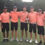 Boys Varsity Golf finishes 3rd place at Forest Invitational